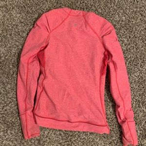 Pink size 8 pullover top